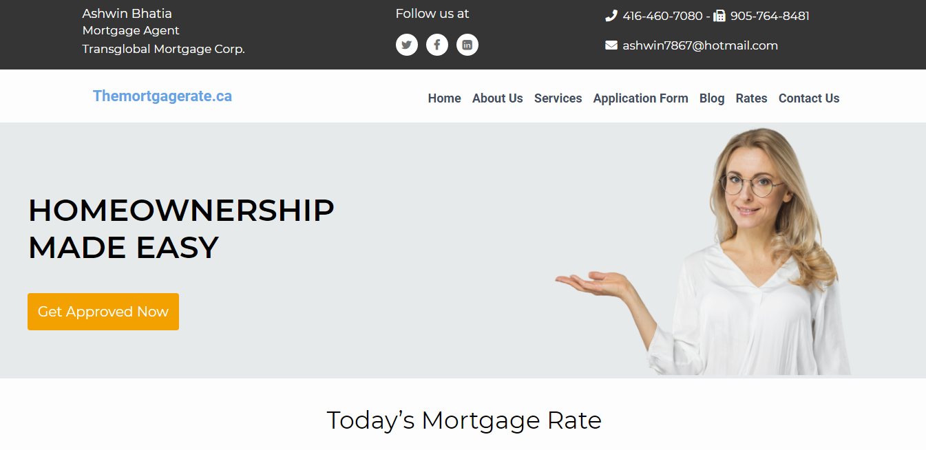 THE MORTGAGE RATE