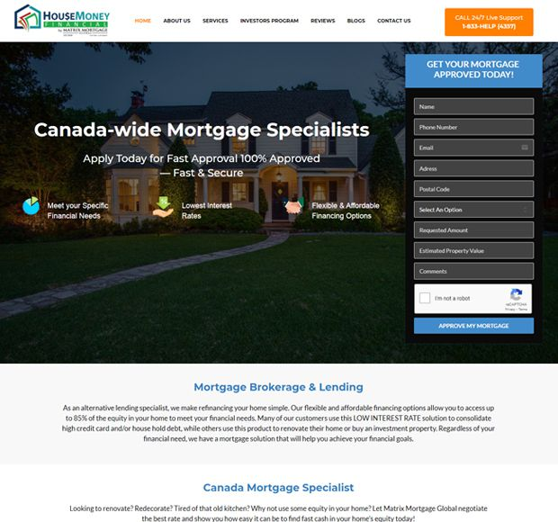 HOUSE MONEY FINANCIAL